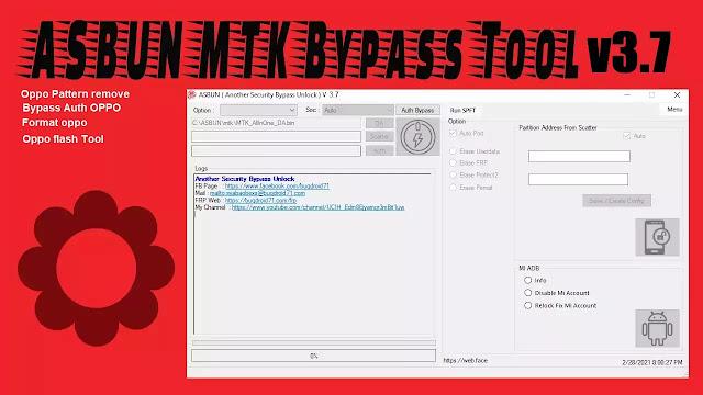 ASBUN MTK Bypass Tool v3.7