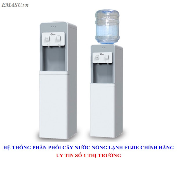 Cây nước nóng lạnh FujiE WD1850C úp bình sử dụng phù hợp cho gia đình và văn phòng