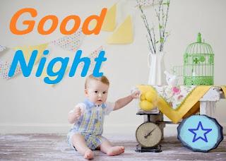 good night cute boy images