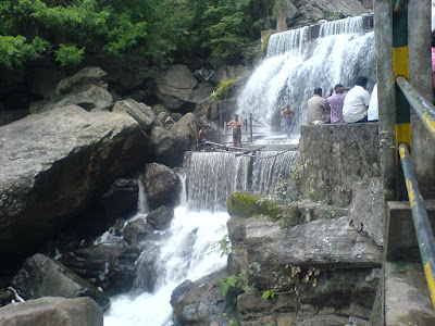 Periyar Forest waterfall