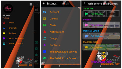 Download BBM MOD Team Begal v3.0.1.25 APK + SOSMED and Games