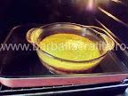 Tort de zahar ars preparare reteta - vasul cu crema in cuptor