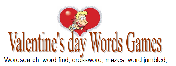 Valentine's Day Words Games