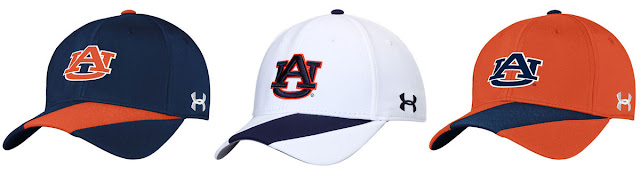 2016 Auburn Under Armour hats caps
