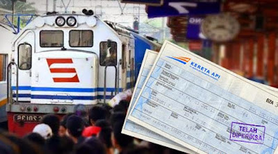 tambahan tiket kereta api lebaran 2017