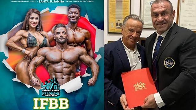 Ο Κολιγκιώνης κατεβάζει εθνική ομάδα Bodybuilding στο Ευρωπαϊκό Πρωτάθλημα της Ισπανίας