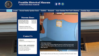 Franklin HIstorical Museum: new web site