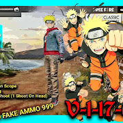 NARUTO MOD FREE FIRE APK 1.17.6 •FREE FIRE• 100%Work NO ROOT! | UPDATE 24MEI2018