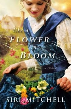 A picture of Siri Mitchell's latest work, A Flower in Bloom
