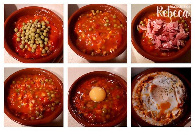 Receta de huevos a la flamenca 02