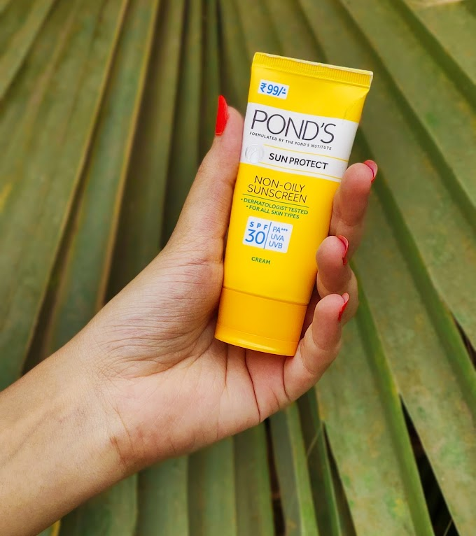 POND'S NON-OILY SUNSCREEN REVIEW || BEST AFFORDABLE SUNCREEN UNDER 99/-