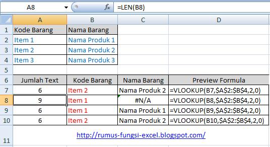 Fungsi vlookup merupakan suatu fungsi di excel yang dipakai untuk mengambil atau memband Kesalahan Fungsi Vlookup Pada Excel