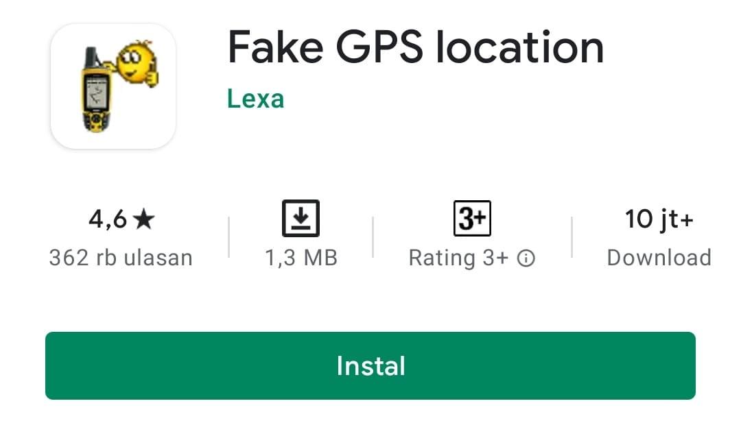Cara Membuat Lokasi Palsu di Android dengan Fake GPS