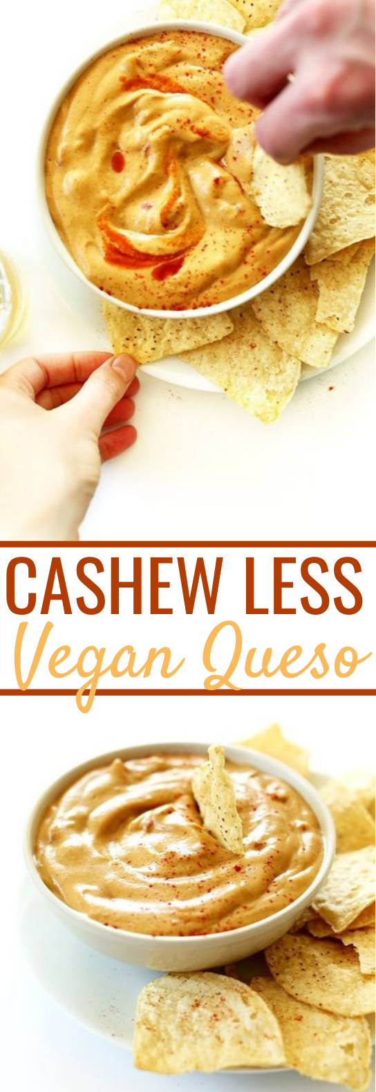 Cashew-less Vegan Queso #sauce #vegetarian #vegan #glutenfree #healthy