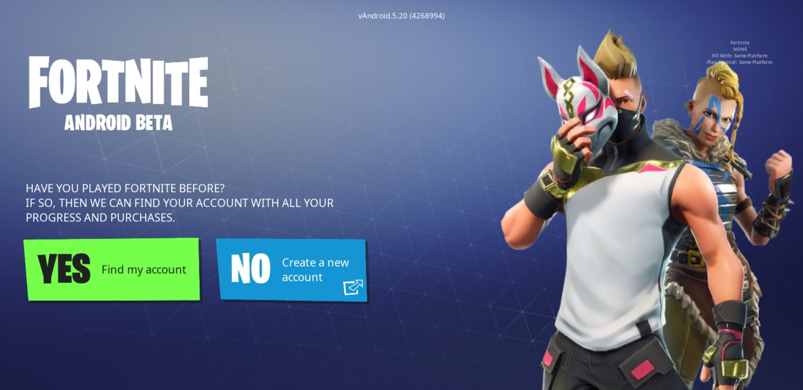 [APK] Fortnite Is Now Live For Android But Only For Samsung Devices For Now