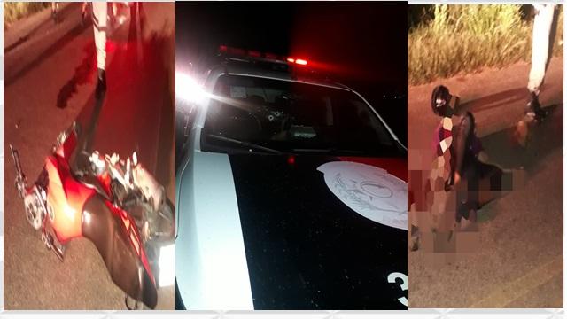 VÍDEO:  Tentativa de assalto na noite desse domingo em Patos, acaba com viatura da policia alvejada à bala e duas pessoas feridas