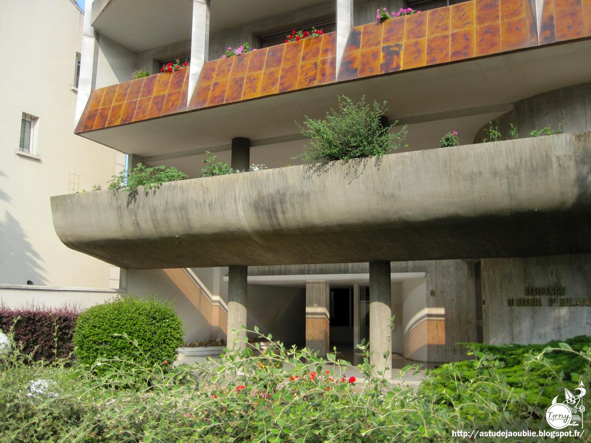 Architecte La Varenne St Hilaire as-tu déjà oublié ? 50s,60s,70s architecture: la varenne