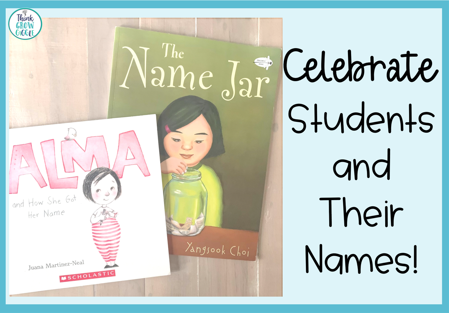 Celebrating Students During Back to School Week with the Name Jar Book