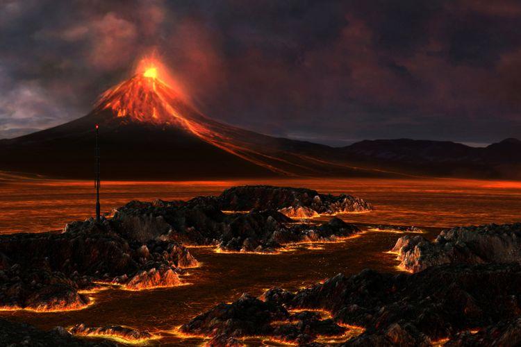 Arti Mimpi Melihat Gunung Meletus Menurut Primbon Jawa