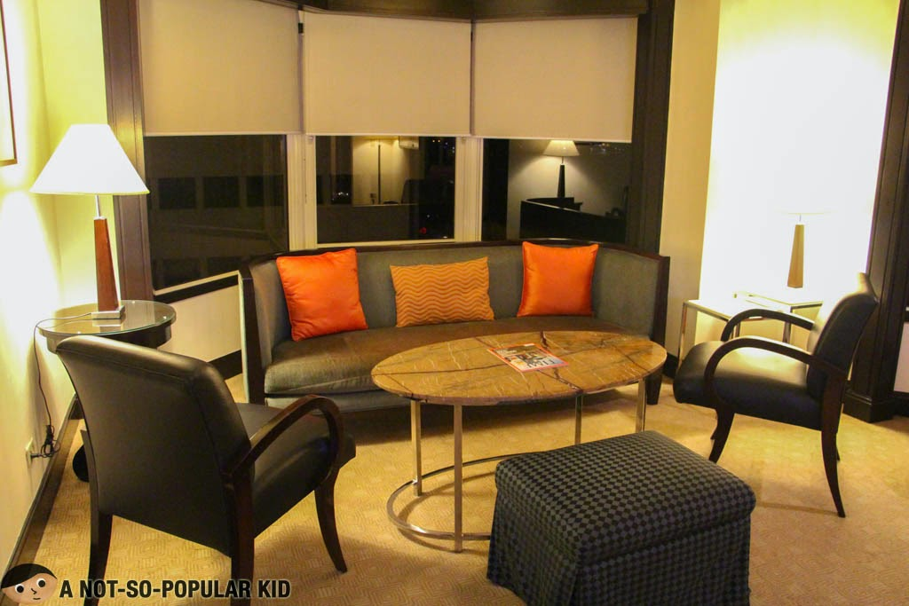 "The ""Living Room"" Area of the Executive Suit, Diamond Hotel"