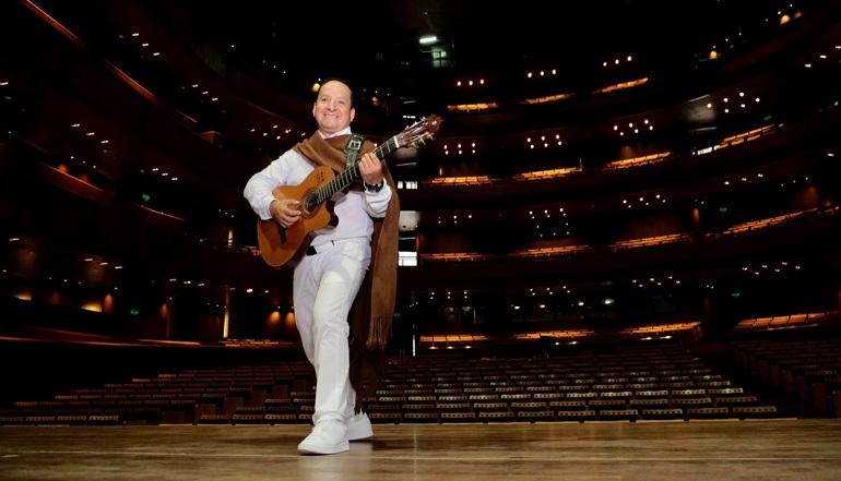 Diosdado en primer concierto presencial: estrenará temas que compuso durante la pandemia