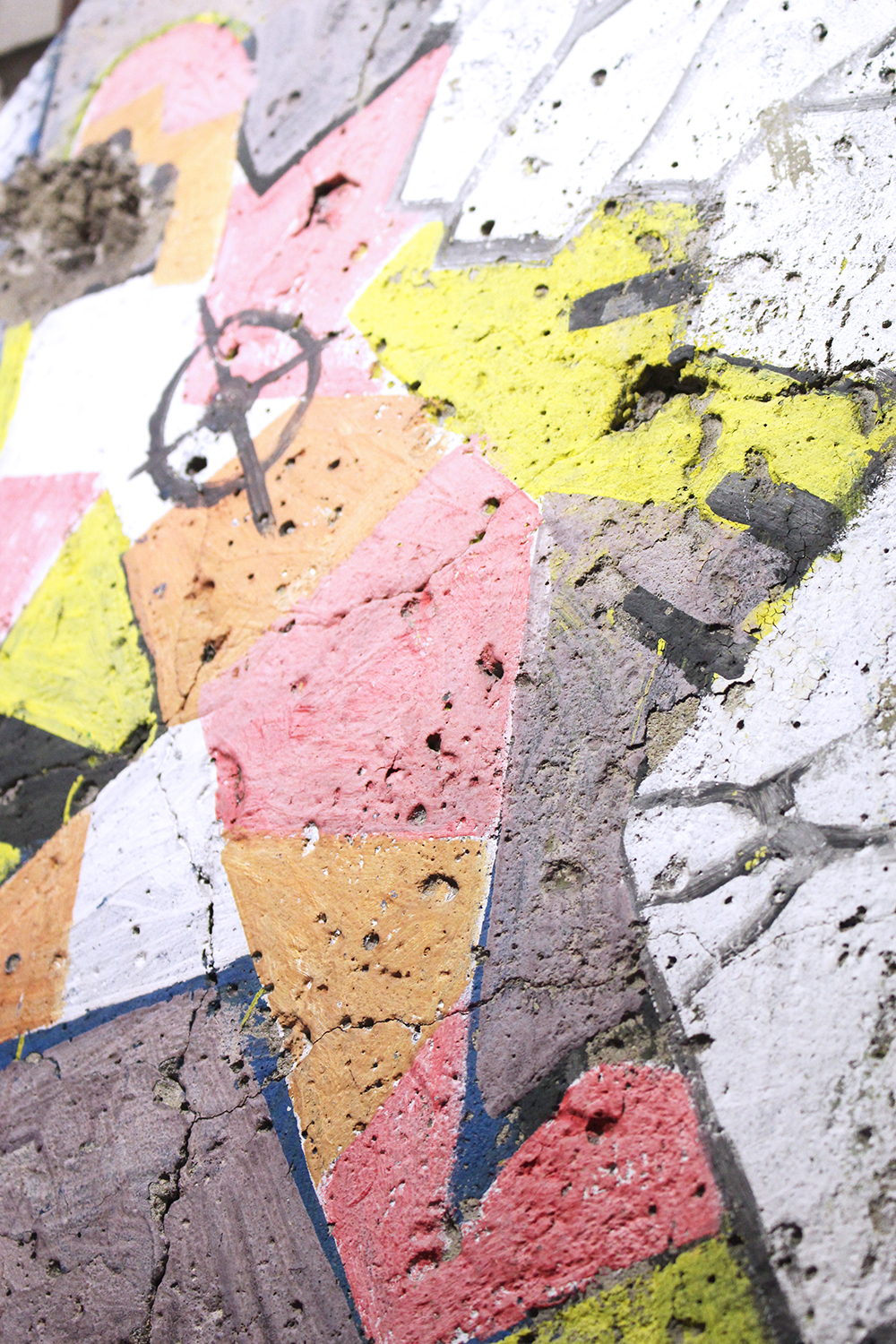 Colourful graffiti on the Berlin Wall - travel & lifestyle blog