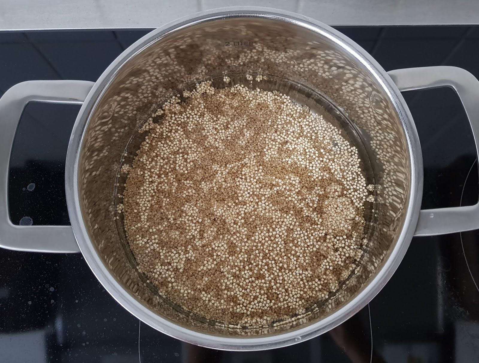 Quinoa Cutlet recipe - Vegan quinoa cutlet recipes - high protein vegan lunch step-by-step recipe