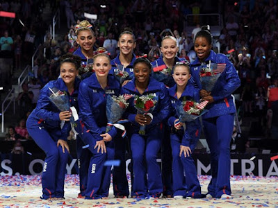 US Women's Gymnasts Team Announced for Rio