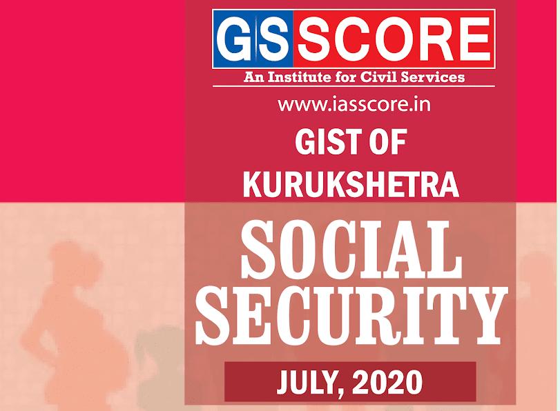Gist of Kurukshetra July 2020