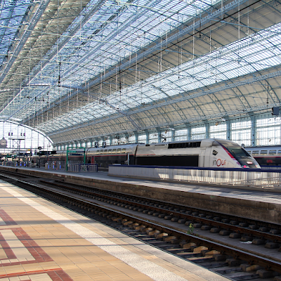 Take the TGV straight from Charles De Gaulle Airport.