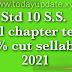 Std 10 social Science All chapter test 30% cut sellabus 2021