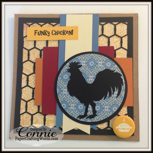 Funky Chicken Card by Connie