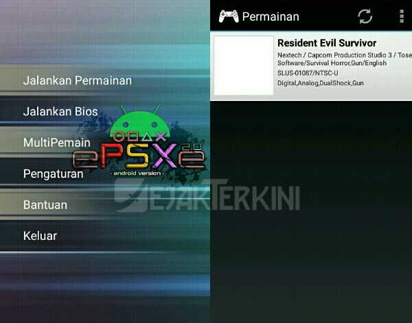 buka emulator