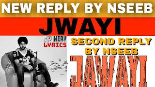 Jawayi By Nseeb - Lyrics