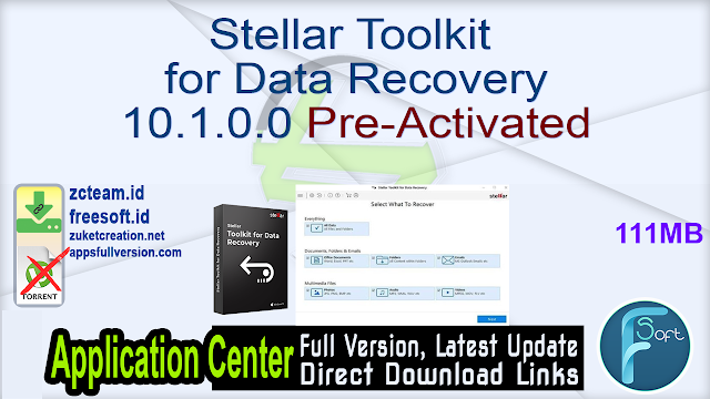 Stellar Toolkit for Data Recovery 10.1.0.0 Pre-Activated _ ZcTeam.id
