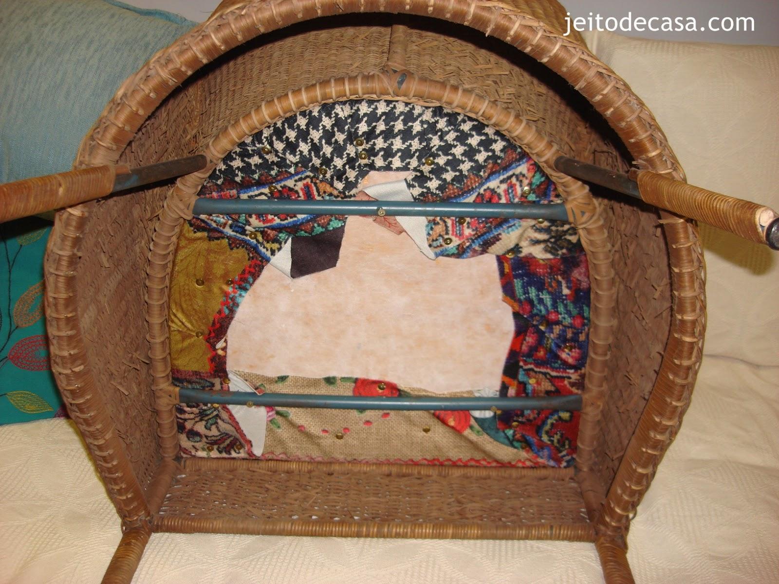 Como forrar o assento da cadeira Jeito de Casa Blog de  #71452B 1600x1200