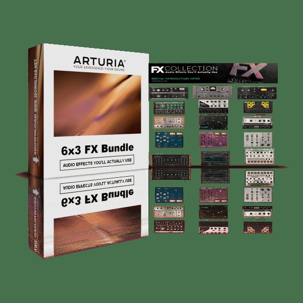 Arturia 6 x 3 FX Bundle v2020.10 Full version