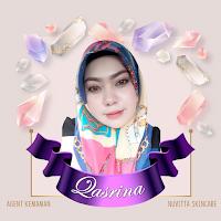 Nuvitta Skincare Qasrina agen kemaman