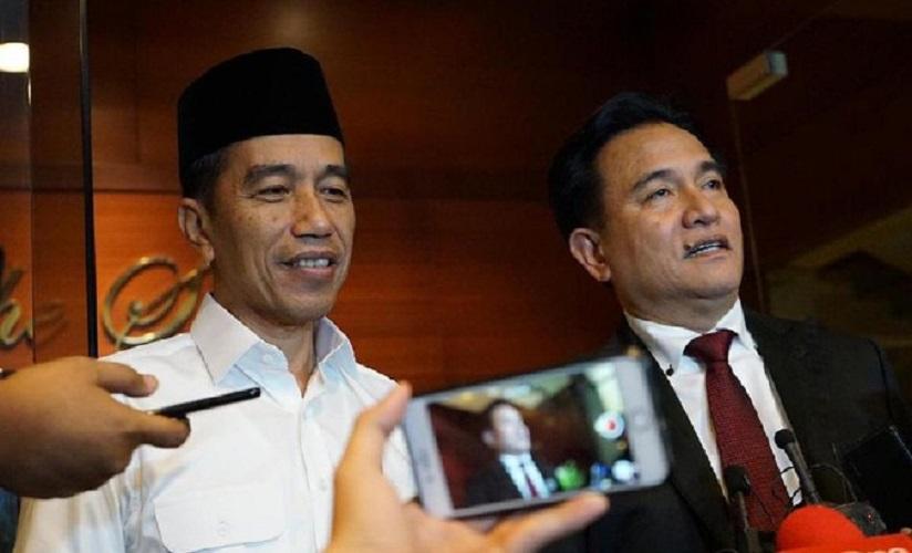 Jokowi bersama Yusril