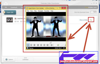 cara download video gratis dengan software