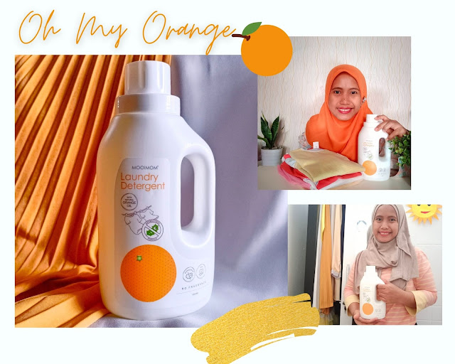 Oh My Orange Antibacterian Laundry Detergent Astin