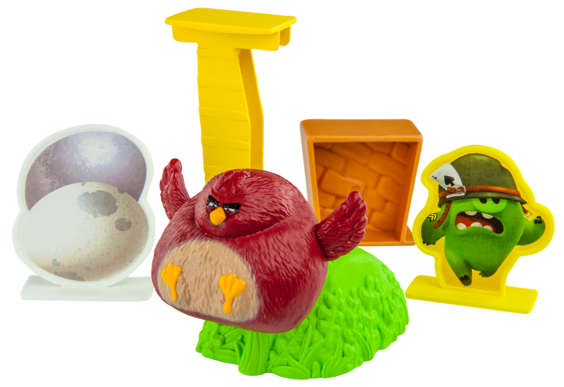 Occasions of JOY: McDonald's The Angry Birds Happy Meal