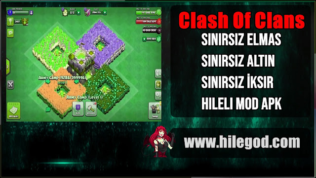 clash of clans hileli mod apk 2021 indir