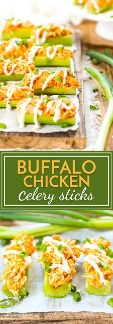 Bufffalo Chicken Celery Sticks