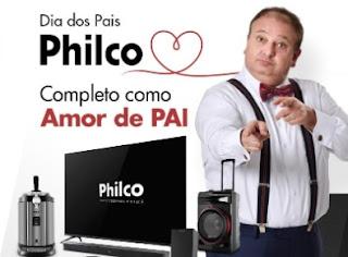 Promoção Dia dos Pais Philco Kits de Presente Erick Jacquin