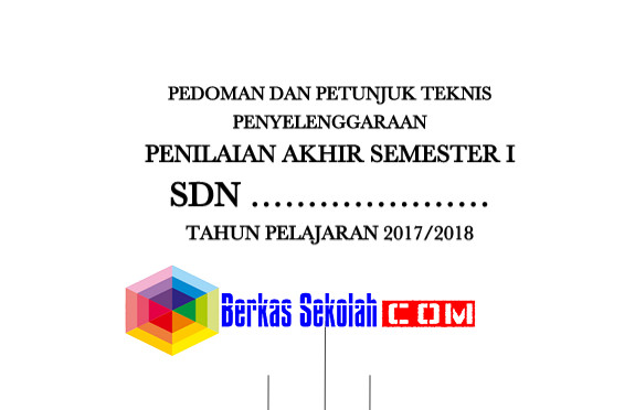Pedoman dan Juknis PAS SD/MI Kurikulum 2013 Terbaru