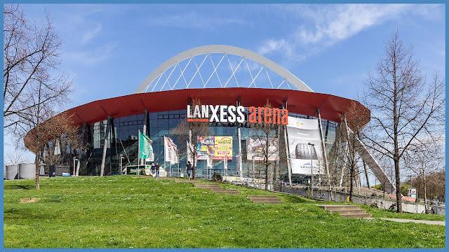 Lanxess Arena from Lanxess arena draußen,