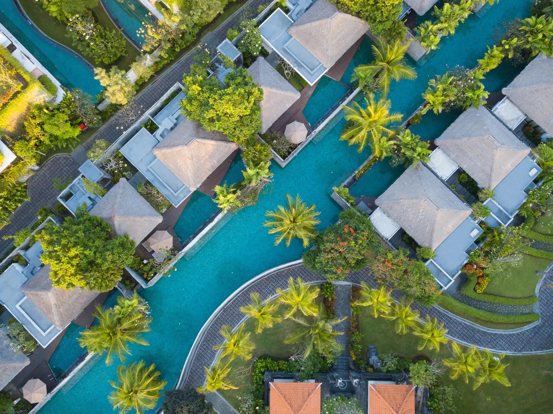 The Village Nusa Dua - Aerial Photography