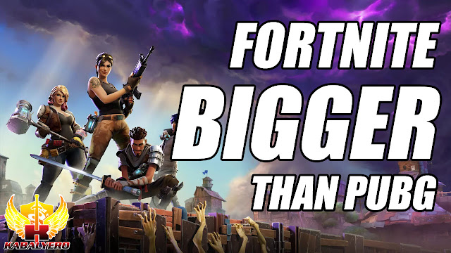 Fortnite Now Bigger Than PlayerUnknown's Battlegrounds