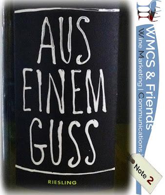 Weingut Lukas Kesselring Aus einem Guss Riesling Pfalz 2015